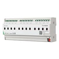 INTELLIGENT ARLIGHT Релейный модуль KNX-712-SW16-DIN (BUS, 12x16A) (arlight, -)