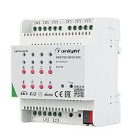 INTELLIGENT ARLIGHT Релейный модуль KNX-708-SW10-DIN (BUS, 8x10A) (arlight, -)