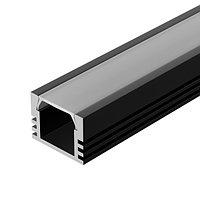 Профиль PDS-S-2000 ANOD Black (arlight, Алюминий)