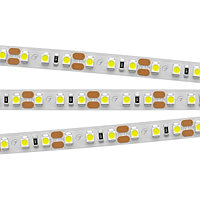 Светодиодная лента RT 2-5000 12V Warm3000 2x (3528, 600 LED, LUX) (arlight, 9.6 Вт/м, IP20)
