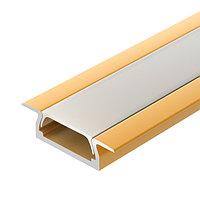 Профиль MIC-F-2000 ANOD Gold Light (arlight, Алюминий)
