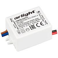 Блок питания ARJ-KE21300-PFC-TRIAC-A (6.3W, 300mA) (Arlight, IP44 Пластик, 5 лет)