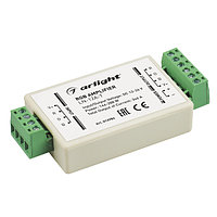 RGB-усилитель LN-12A-T (12/24V, 144/288W) (arlight, IP20 Пластик, 1 год)