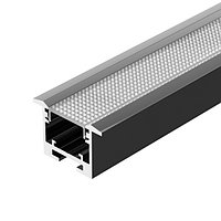 Профиль SL-LINE-3523-F-2500 BLACK (arlight, Алюминий)