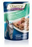 Stuzzy SPECIALITY 100г с курицей и ветчиной консервы для взрослых кошек