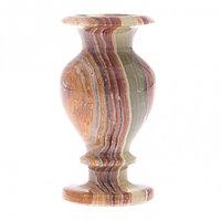 Ваза настольная для цветов камень оникс 5,2х9,5 см (2х4)