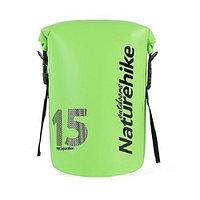 Герморюкзак Naturehike 250D Waterproof 15 л light green