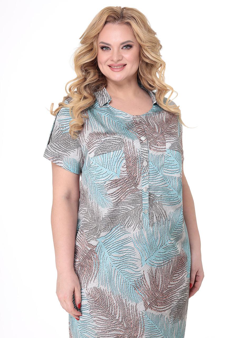 Платье больших размеров - фото 4