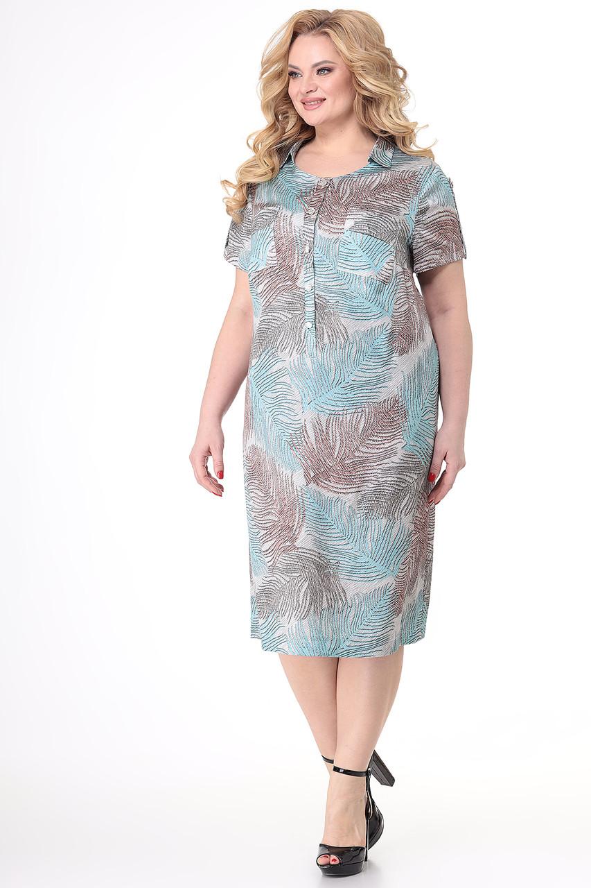 Платье больших размеров - фото 5