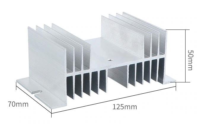 Радиатор для твердотельных реле HS-50