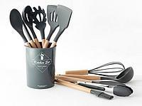 Набор кухонных принадлежностей серый