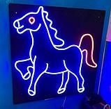 Гибкий неон 12*6 мм. 12 v.  Бухта - 50 метров. Цвет шнура как и цвет свечения. Flex neon для рекламы. Белый, фото 10
