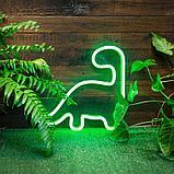 Гибкий неон 12*6 мм. 12 v.  Бухта - 50 метров. Цвет шнура как и цвет свечения. Flex neon для рекламы. Красный, фото 9