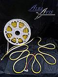 Гибкий неон 12*6 мм. 12 v. желтый  Бухта - 50 метров. Цвет шнура как и цвет свечения. Flex neon для рекламы., фото 2
