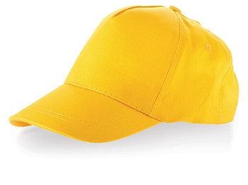 Бейсболка Memphis детская, желтый