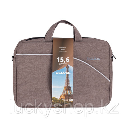 "Сумка для ноутбука Deluxe Paris 15.6"" (DLNB-102 Brown), фото 2"