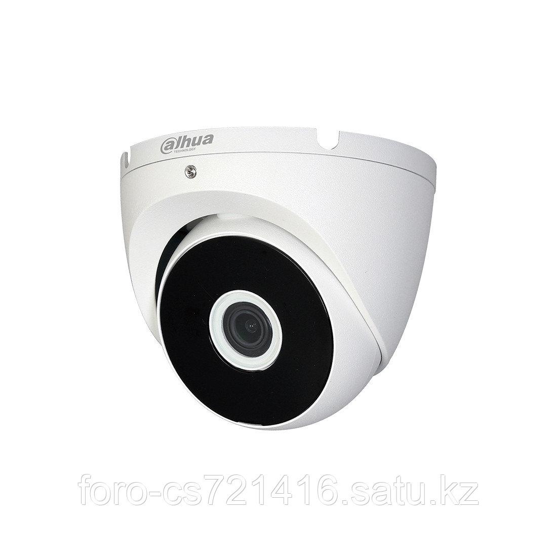 Купольная видеокамера Dahua DH-HAC-T2A21P-0360B