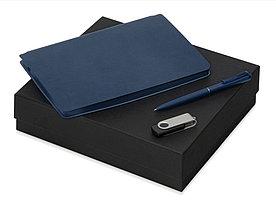 Подарочный набор Notepeno, темно-синий