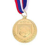 Медаль тематическая «Футбол», золото, d=3,5 см