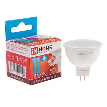 Лампа светодиодная IN HOME LED-JCDR-VC, GU5.3, 11 Вт, 230 В, 4000 К, 990 Лм