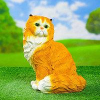 """Садовая фигура """"Кот персидский сидит"""" 30см"""