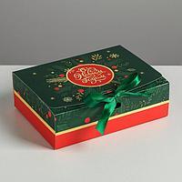 Складная коробка подарочная «С новым годом», 16.5 × 12.5 × 5 см
