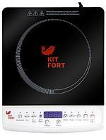 Индукционная плитка Kitfort КТ-101 черный