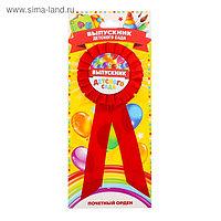 Орден - розетка «Выпускник детского сада», d=4,5 см