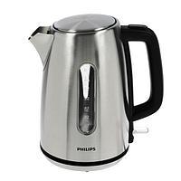 Чайник электрический Philips HD9357/10, металл, 1.7 л, 2200 Вт, серебристый