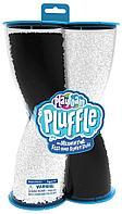 PlayFoam Pluffle воздушная масса для лепки «Живой песок» черно-белая, фото 1