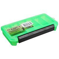 Коробка для приманок КДП-1, цвет зелёный, 190 × 100 × 30 мм
