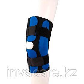 Ортез на коленный сустав (тутор) разъемный с полицентрическими шарнирами Fosta F 1293, размер S
