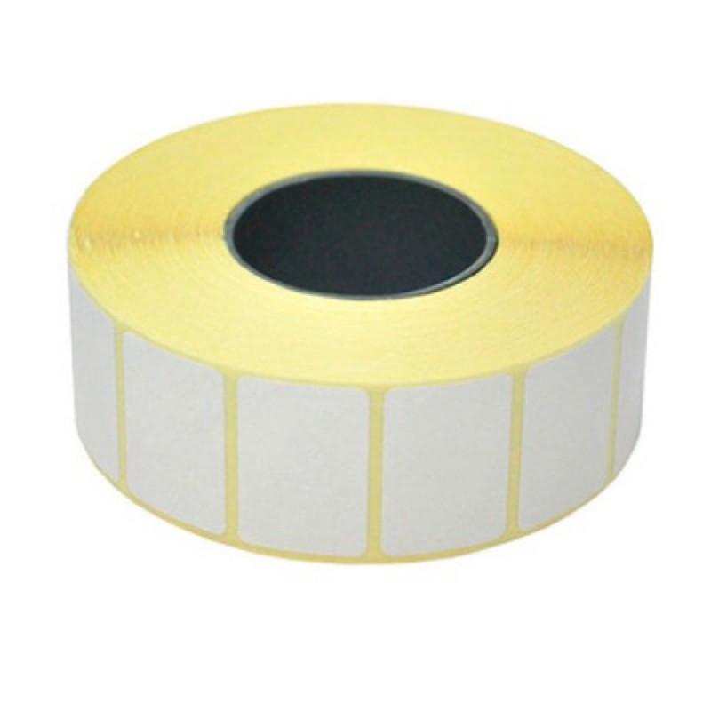 Термоэтикетки 30х15мм, 1000 шт/рулон Арт.5669