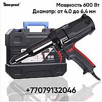 Электрический заклепочник клепальник вытяжной TIME-PROOF TAC 700