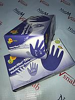 Перчатки нитриловые смотровые (диагностические) нестерильные 100% нитрил