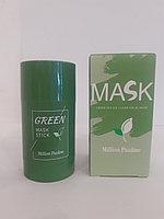 Маска-стик с глиной и зеленым чаем от угревой сыпи GREEN MASK STICK 40g.