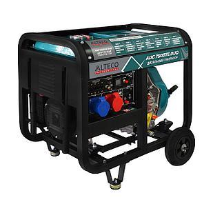 Дизельный трехфазный  генератор Alteco Professional ADG 7500TE DUO