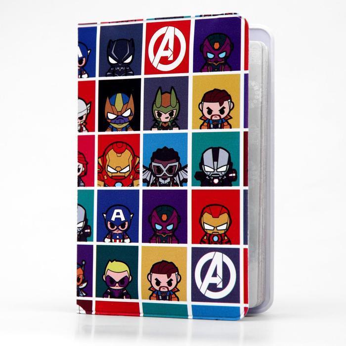 Паспортная обложка «Мстители»