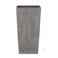 Горшок с внутренней вставкой Urbi Square Beton Effect DURS 400E   Prosperplast(Польша)