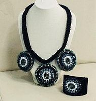 Гарнитур ( колье и браслет ) / бижутерия