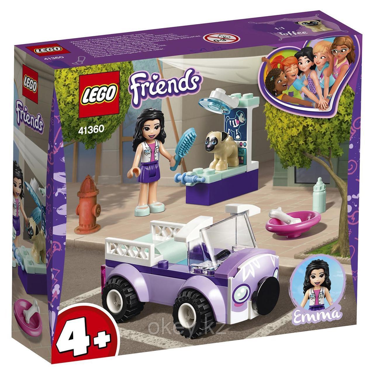 LEGO Friends: Передвижная ветклиника Эммы 41360