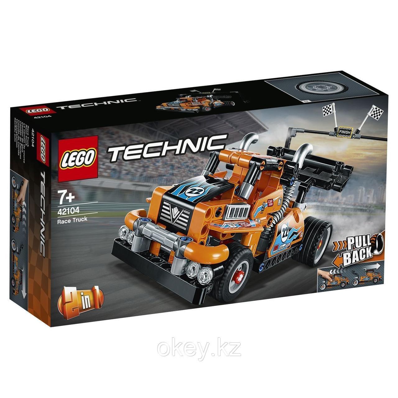 LEGO Technic: Гоночный грузовик 42104