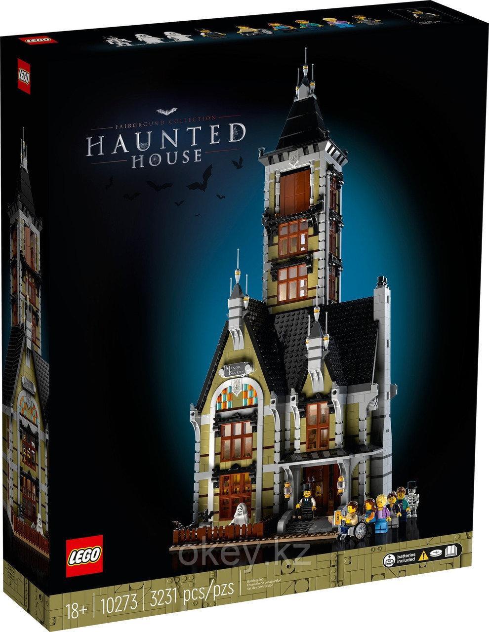 LEGO Creator Expert: Дом с привидениями 10273