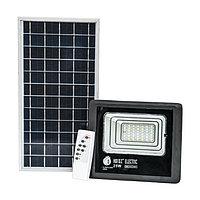 Прожектор светодиодный с солнечной панелью TIGER-25 25W 6400K