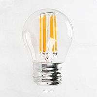 Светодиодная лампа FILAMENT MINI GLOBE-6 6W Е27 4200К