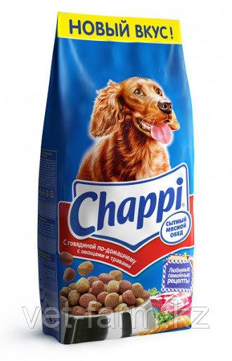Chappi сухой корм для собак с говядиной