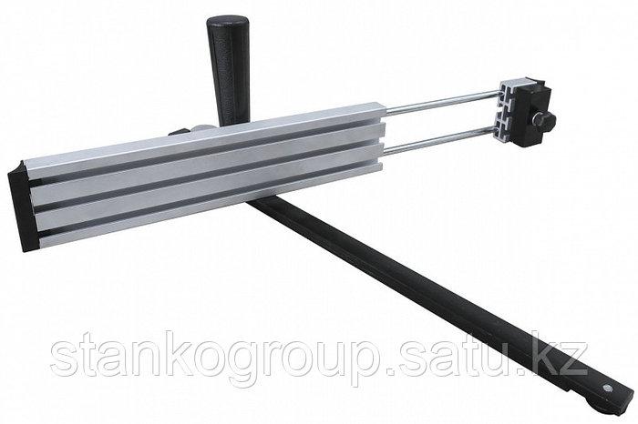 Угловой упор с направляющей вдоль Т-образного паза 19 мм для фрезерного стола