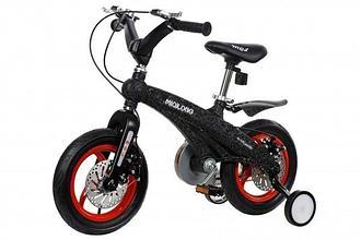 """Детский велосипед Miqilong GN - 12"""" Черный"""