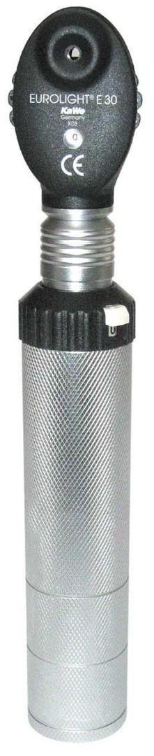 Офтальмоскоп  EUROlight E30 в комплекте.