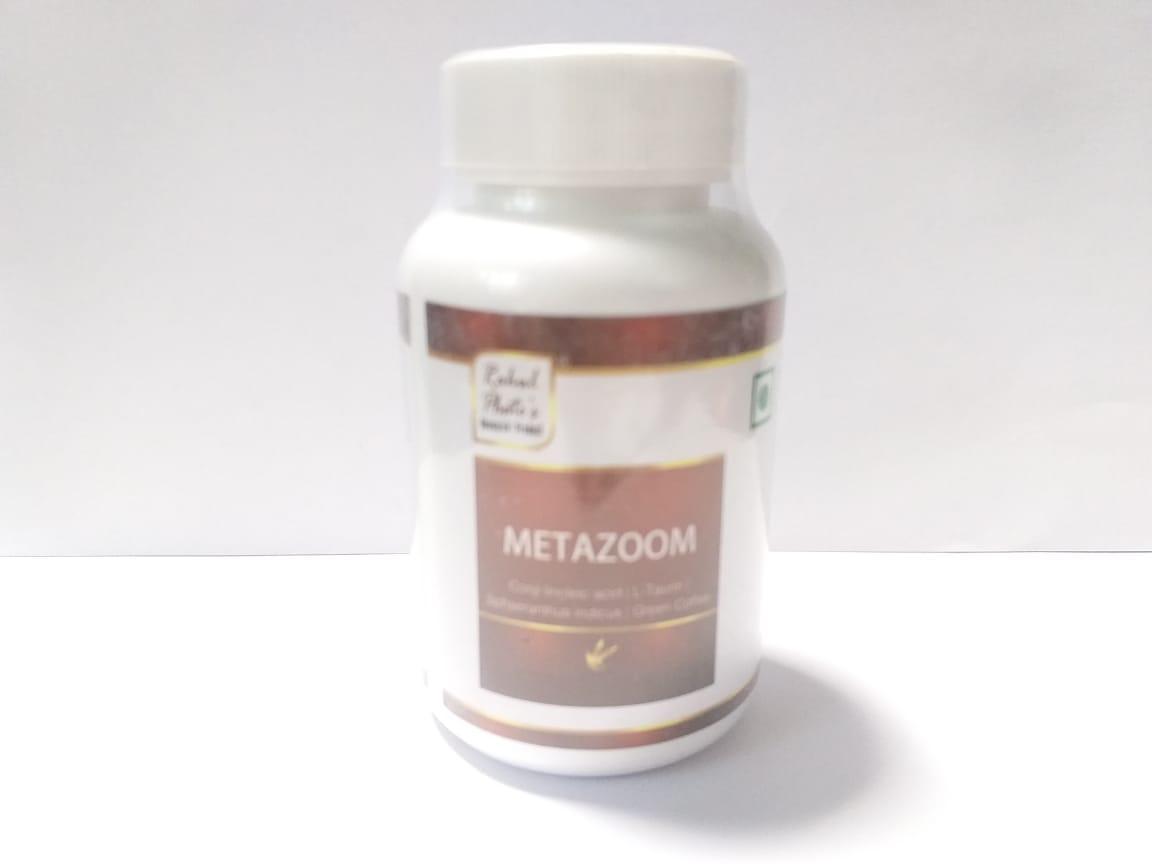 Капсулы Metazoom, Rahul, 60 кап, для здорового обмена вещетв
